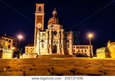 Basilica Sanctuary Of Saint Mary Of Monte Berico,vicenza