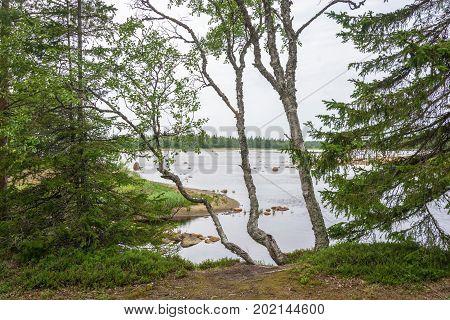 Beautiful Karelian Landscape.