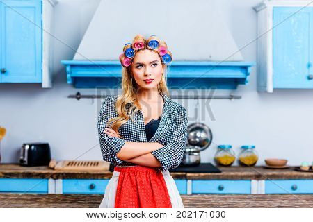 Housewife With Crossed Arms
