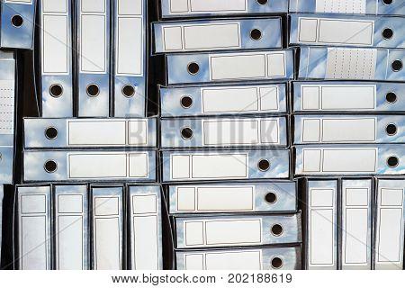 Ring Binders.Cloud storage concept image. storage concept