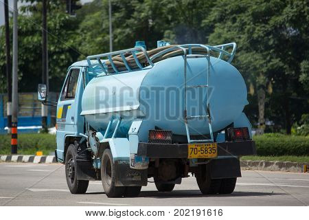 Private Of Sewage Tank Truck.