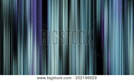 3d render digitally generated image of blue light and stripes moving fast. Blured background with blue tones.