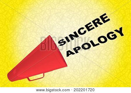 Sincere Apology Concept