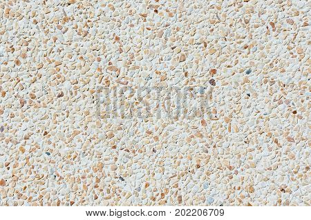 Texture Gravel floor background , small rock stone on floor
