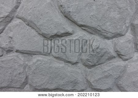 Light Grey Concrete Slab With Extruded Pattern (artificial Stone)