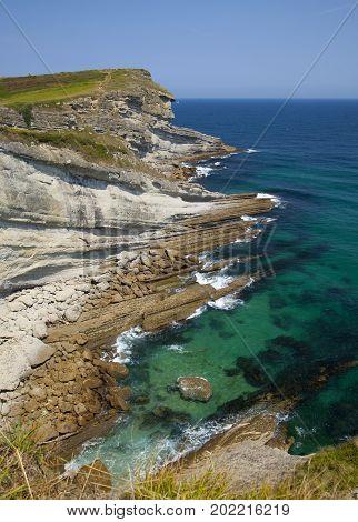 Cantabria, Bay Of Santander, Cape Cabo Mayor
