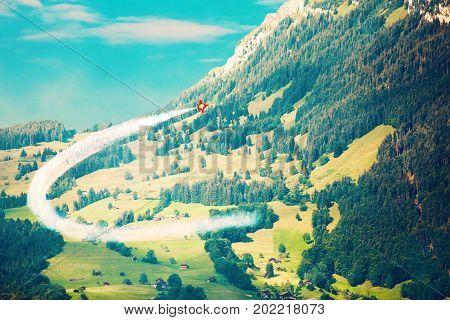 Airshow In Switzerland