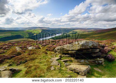 Derwent Edge In Derbyshire