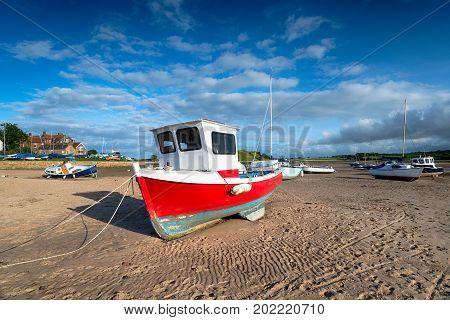 Fishing Boats At Alnmouth