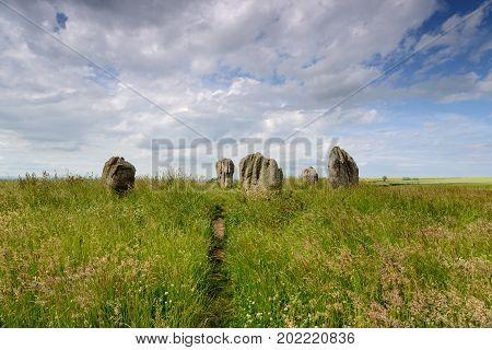 Summer At The Duddo Stone Circle