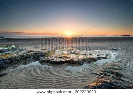 Sunrise In Bamburgh