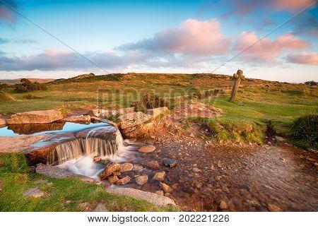 Beckamoor Cross On Dartmoor