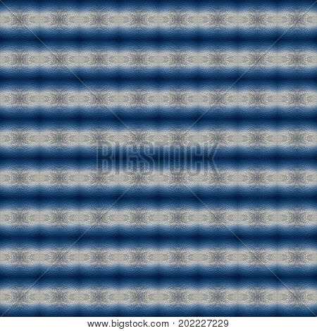Abstract kaleidoscopic texture or background pattern design made from blue sky with cloud