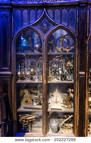 The Set Of Props From Harry Potter And The Goblet Of Fire Yule