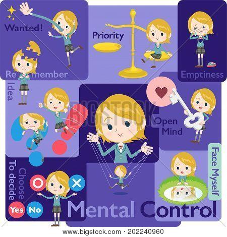 Schoolgirl White_mental & Volition