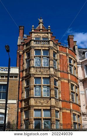 The Victorian red brick house, London, England, UK