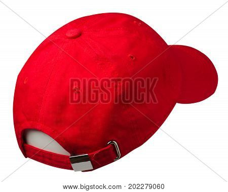 Sports Cap Isolated On A White Background