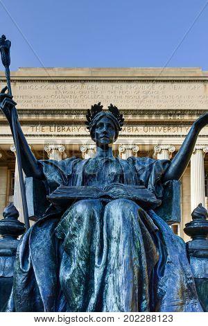 Columbia University Library - New York City