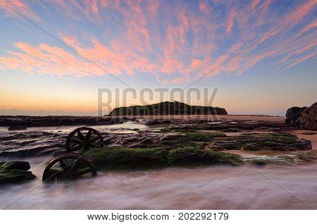 Sunrise Skies Over Windang Island