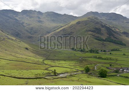 Crinkle Crags in the English Lake District