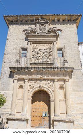 San Ignacio church in Baeza Jaen Spain