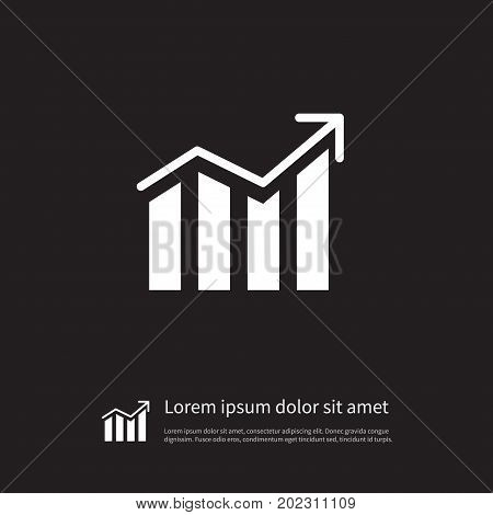 Growth Vector Element Can Be Used For Growth, Increase, Progress Design Concept.  Isolated Progress Icon.