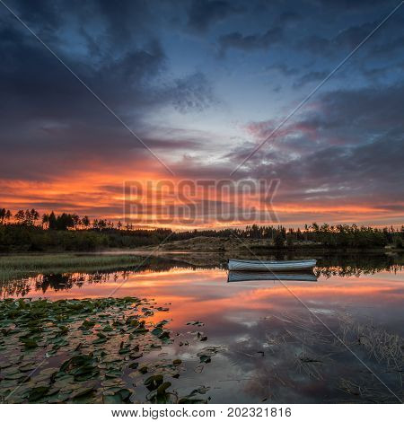 Loch Rusky is a small freshwater loch near Callander in the Scottish Highlands.
