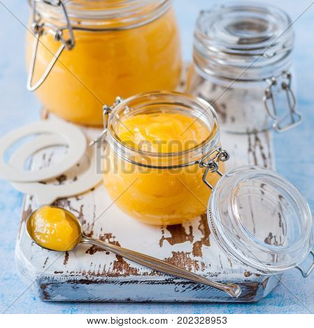 Canning Lemon Curd