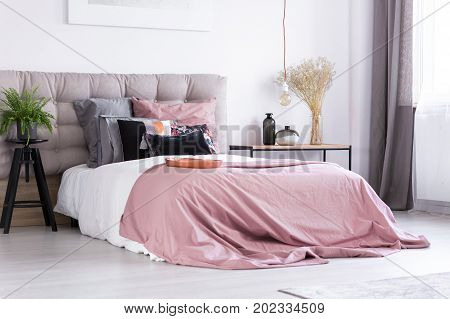 Simple Bedroom With Fern