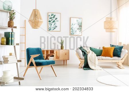 Vintage Chair In Relax Room