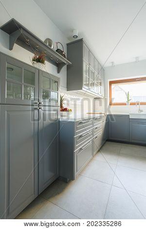 Provence Design In Modern Kitchen