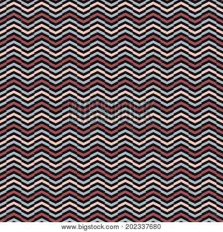 Simple Wavy Background. Abstract Seamless Pattern.