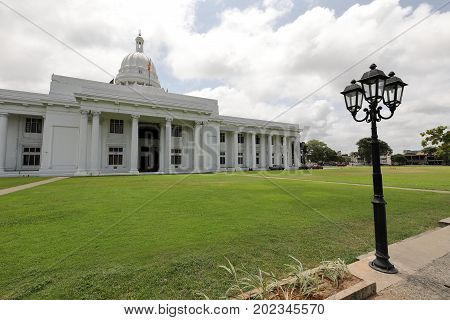 The Town Hall of Colombo in Sri Lanka