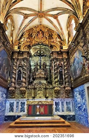 Church Of St. Francis In Evora, Portugal