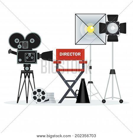 Video Studio Director Chair