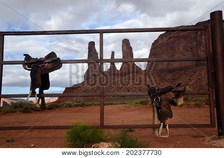 Monument Valley Landscape, Usa