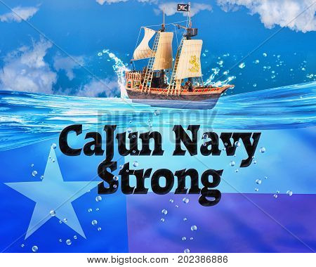 The Cajun Navy helped to save Texans.