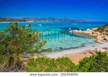 Porto Giunco Beach, Villasimius, Sardinia, Italy.