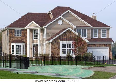 Upscale Model Home