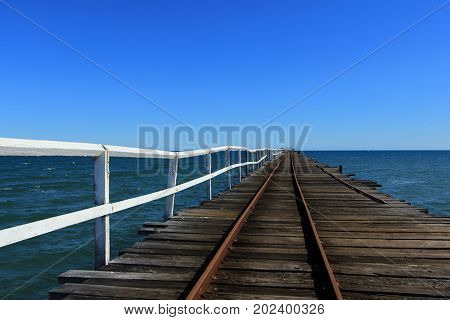 Disused One Mile Jetty, Carnarvon, Western Australia