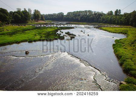 Venta Rumba Kuldiga Is The Widest Waterfall In Europe