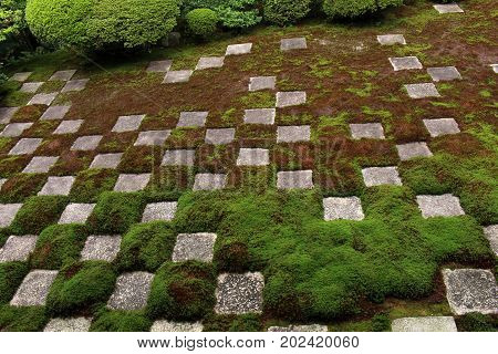 Another Abstract Garden At The Sand Garden Of Tofukuji Complex In Kyoto, Japan
