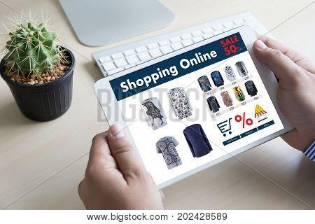 Online Shopping Add To Cart Online Order Store Buy Sale Digital Online Ecommerce Marketing