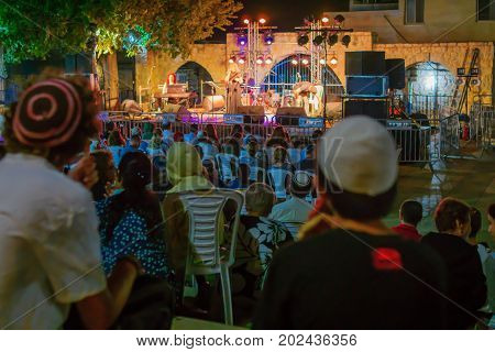 Klezmer Festival (30Th) In Safed (tzfat), Israel