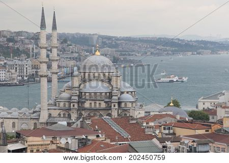 New Mosque In Instanbul