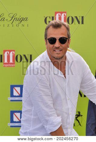 Giffoni Valle Piana Sa Italy - July 22 2017 : Gabriele Muccino at Giffoni Film Festival 2017 - on July 22 2017 in Giffoni Valle Piana Italy