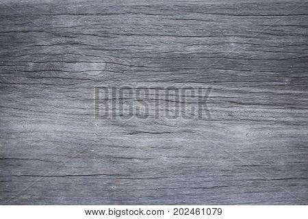 Close up of empty wood background, Black & White image