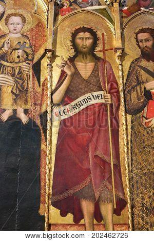 Siena Baptistery - Polyptich Of St John The Baptist
