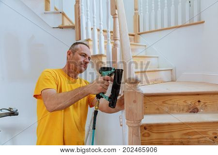 Installation Wizard For Wooden Railing For Stairs