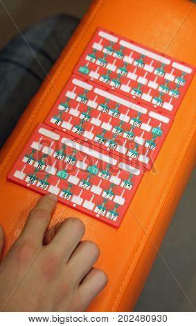 Bingo Scorecards And The Hand